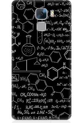 Teknomeg Huawei Honor 7 Fizik Ve Kimya Hesabı Desenli Silikon Kılıf