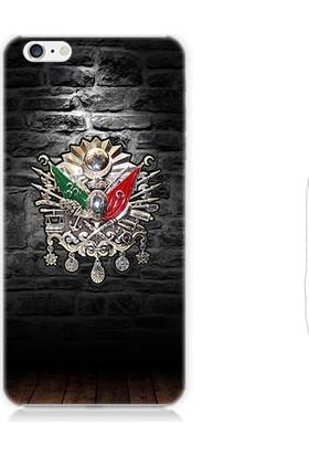 Teknomeg Apple iPhone 6 Osmanlı Tuğrası Desenli Silikon Kılıf