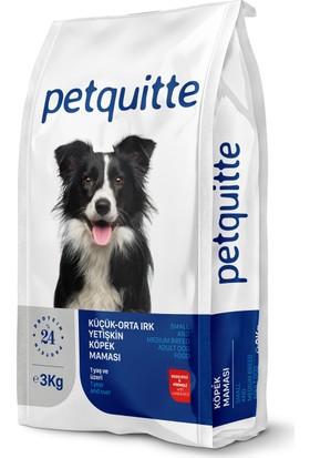 Petquitte Küçük Ve Orta Irk Yetişkin Köpek Maması 3 Kg