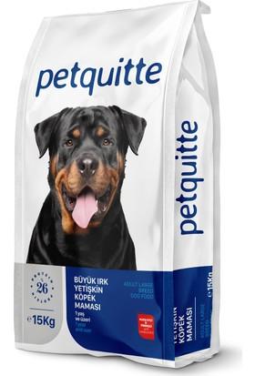 Petquitte Büyük Irk Yetişkin Köpek Maması 15 Kg