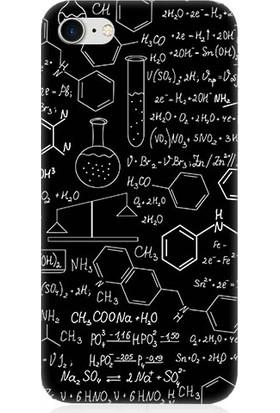 Teknomeg Apple iPhone 7 Fizik Ve Kimya Hesabı Desenli Silikon Kılıf