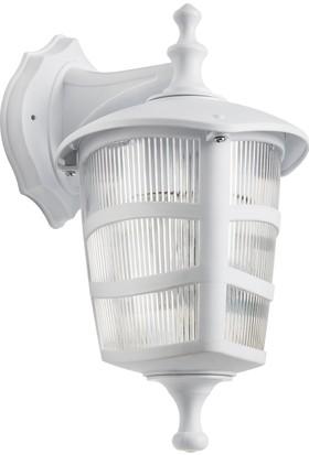 Modelight Optik Üçgen Ters Aplik Beyaz
