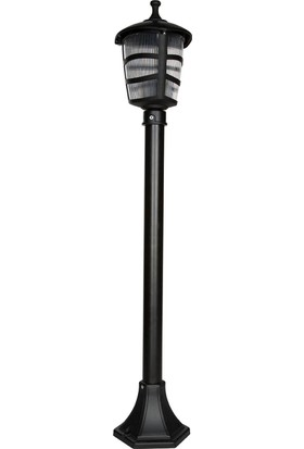 Modelight Optik Üçgen Çim Direği Siyah