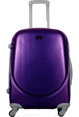 My Luggage Dayanıklı Sert Yüzey (Büyük Boy)Valiz Mor 10111