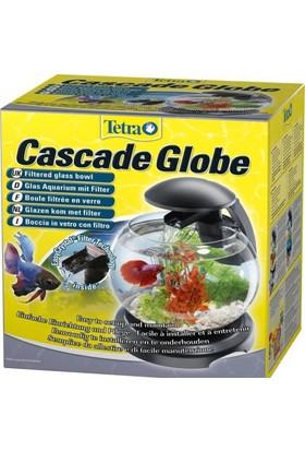Tetra Cascade Globe Filtre ve Lambalı Fanus Siyah