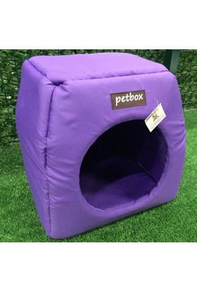 Petbox Trio Üç Fonksiyonlu Su Geçirmez Kedi Yuvası No:1 Mor