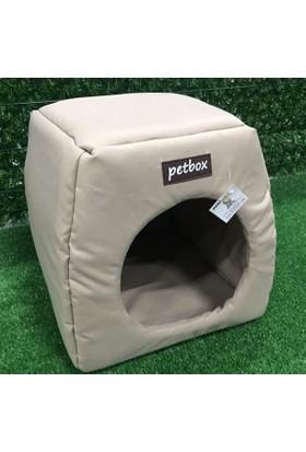 Petbox Trio Üç Fonksiyonlu Su Geçirmez Kedi Yuvası No:1 Bej