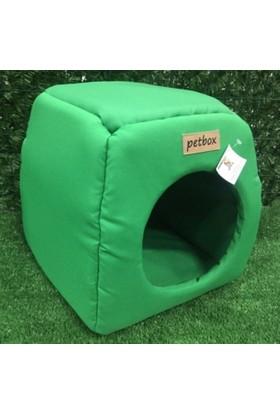 Petbox Trio Üç Fonksiyonlu Su Geçirmez Kedi Yuvası No:1 Petrol Yeşili