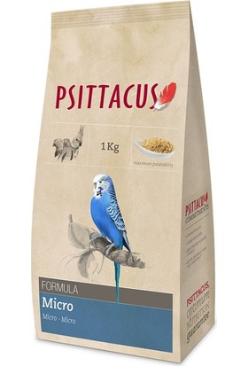 Psittacus Micro Formula Pellet Haline Getirilmiş Özel Muhabbet Yemi 1 kg