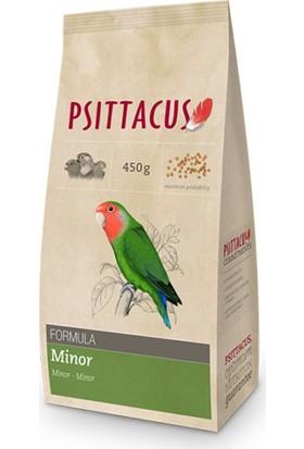 Psittacus Minor Formula Pellet Haline Getirilmiş Özel Paraket Yemi 450 gr