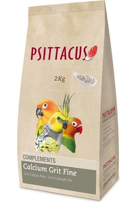 Psittacus Calcium Grit Fine Kalsiyumlu Kuş Kumu 2 kg