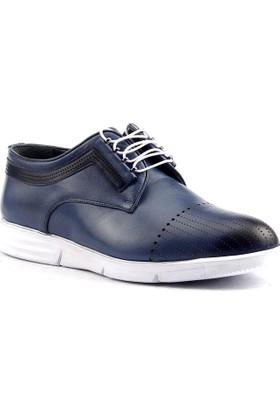 By Sayan Eva Taban Deri Günlük Rahat Erkek Ayakkabı