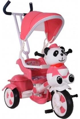 Babyhope 125 Yupi Üçteker Bisiklet Pembe - Beyaz