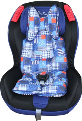 Sevi Bebe Puset ve Oto Koltuğu Minderi - Desenli Mavi