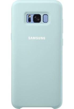 Samsung Galaxy S8 Plus Silikon Kılıf Mavi - EF-PG955TLEGWW