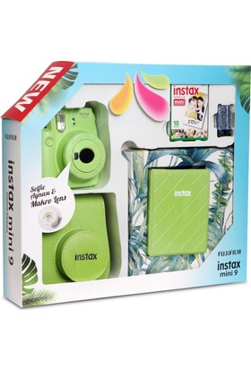Fujifilm Instax Mini 9 Kit Lime