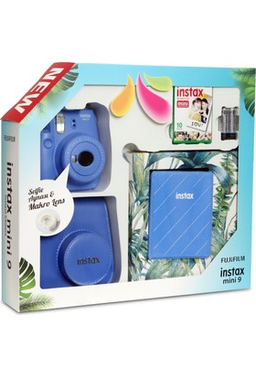 Fujifilm Instax Mini 9 Kit Cob