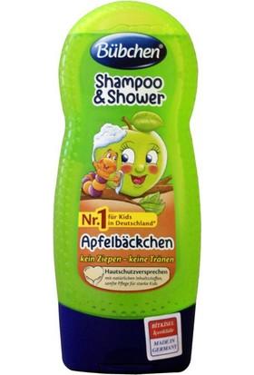 Bübchen Çocuk Şampuanı ve Duş Jeli Elmalı 230ml