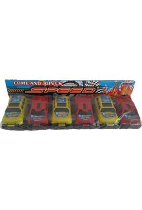 Nizam Oyuncak Speed 6Lı Araba Seti