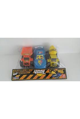 Nizam Oyuncak Truck Pomer 3Lü Kamyon Seti