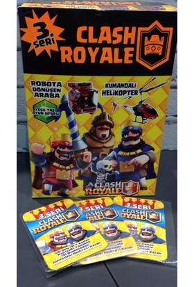 Clash Royale 3. Seri Orjinal Oyun Kartları 200lü Kutu