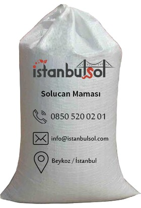 İstanbulsol Taze Organik Solucan Maması Fermantasyon Room İle Fermante Edilmiş 50Kg