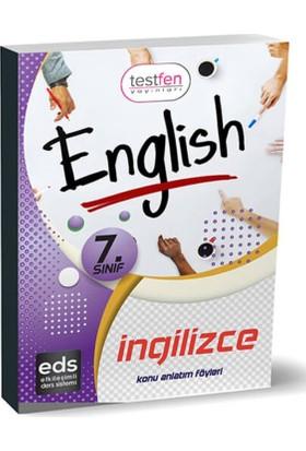 7.Sınıf-İngilizce Konu Anlatım Föyleri (37 Föy)