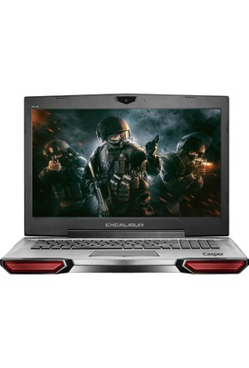 "Casper G850.7700-B1G0X Intel Core i7 7700HQ 16GB 1TB + 128GB SSD GTX1050 Freedos 17.3"" FHD Taşınabilir Bilgisayar"