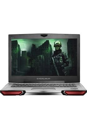 """Casper G860.7700-B590X Intel Core i7 7700HQ 16GB 1TB + 256GB SSD GTX1060 Freedos 17.3"""" FHD Taşınabilir Bilgisayar"""
