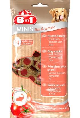 8in1 Minis Balık&Domatesli Köpek Ödülü 100 Gr