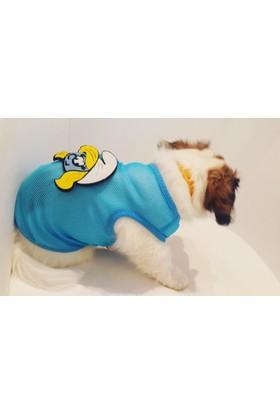 Dogi & Dog Şirine File Köpek Atleti-Köpek Kiyafeti-Köpek Elbisesi-Kedi Kiyafeti