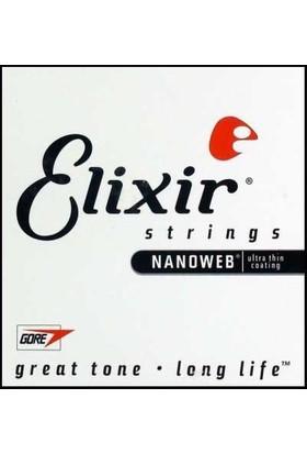 Elixir 024 Tek Bronz Akustik Gitar Teli (15124)