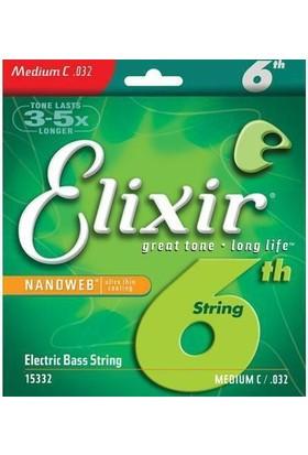 Elixir 032 Tek Bas Gitar Teli (15332)