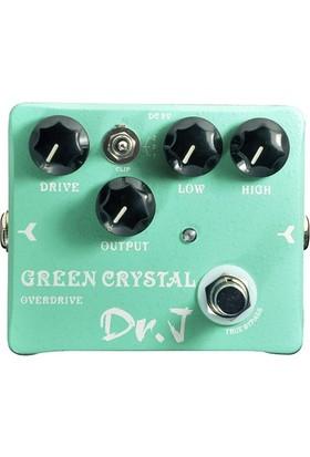 Joyo D50 Green Crystal Overdrive Gitar Pedalı