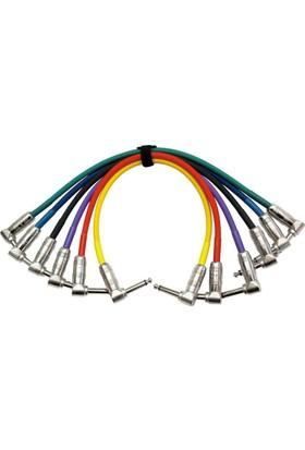 Kirlin IP6243PN30cm Ara Kablo 6'lı Set