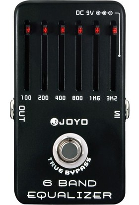Joyo JF11 6 Band EQ Gitar Pedalı