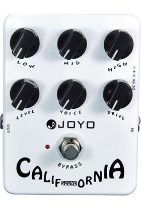 Joyo JF15 California Sound Gitar Pedalı