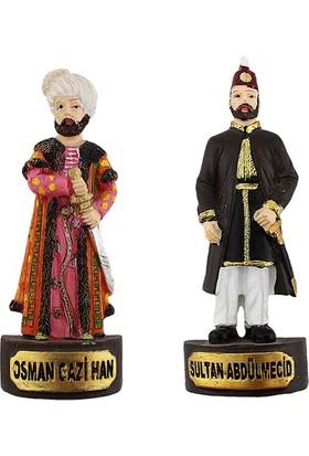 Hunga İkili Sultan Abdülmecid, Osman Gazihan Buzdolabı Süsü,Magnet