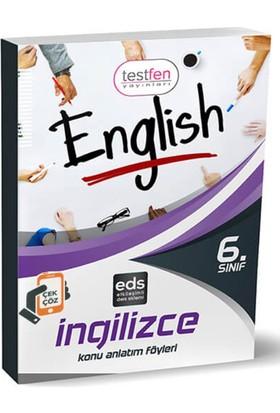 6.Sınıf-İngilizce Konu Anlatım Föyleri (37 Föy)