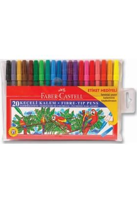 Faber-Castell Keçeli Kalem 20 Renk 155120