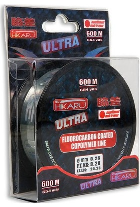 Lineaeffe Hikaru Ultra Fluoro Carbon Misina 250 Mt