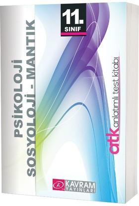 11. Sınıf Psikoloji Sosyoloji Mantık Anlatımlı Test Kitabı