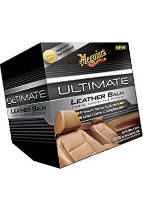 Meguiars Ultimate Leather Balm Deri Temizleyici & Koruyucu Krem 160 gr