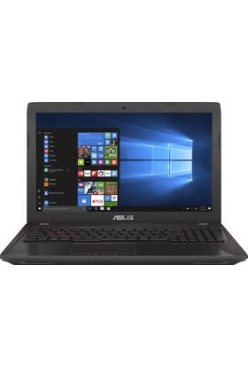 """Asus FX553VD-DM767T Intel Core i7 7700HQ 8GB 128GB SSD GTX1050 Windows 10 Home 15.6"""" FHD Taşınabilir Bilgisayar"""