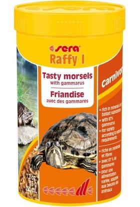Sera Raffy I Kaplumbağa, Sürüngen ve Balık Yemi Gammarus 250 ml