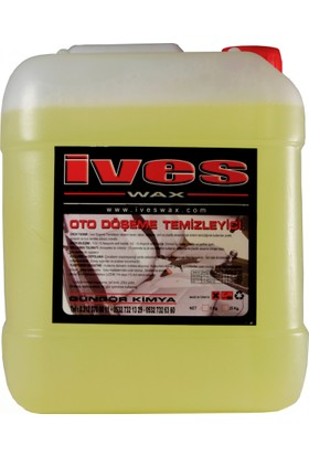 İveswax Detay Döşeme Temizleme Sıvısı 5 Lt