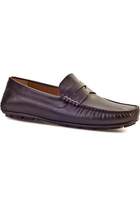 Cabani Makosen Günlük Erkek Ayakkabı Kahverengi Deri