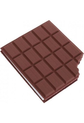 Sızmaz Ticaret Çikolata Görünümlü Not Defteri