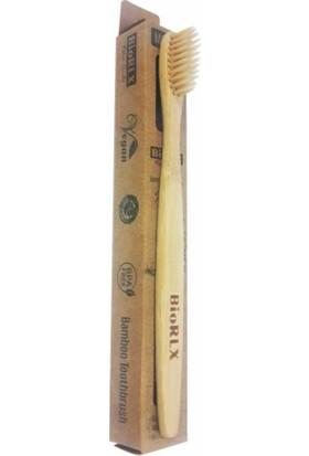Doğal Biorlx Bambu Diş Fırçası %100 Doğal Bambu Ağacı