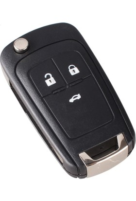 Opel 3 Buton Sustalı Kumanda Kabı (Yeni Model)